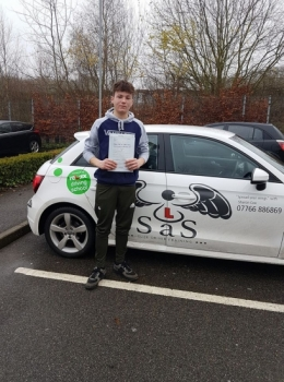 Passed 20/12/2017 3 Minor Faults Instructor Sharon Cox...
