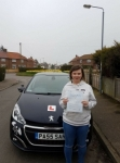 Lianne Baxter passed with Sas Elite Driver Training