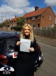 Lily Wade passed with Sas Elite Driver Training