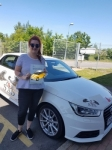 Abigail Lee passed with Sas Elite Driver Training
