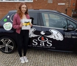 Casey Cork passed with Sas Elite Driver Training