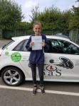 Imogen Lee passed with Sas Elite Driver Training