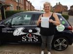Katharine Shackcloth passed with Sas Elite Driver Training