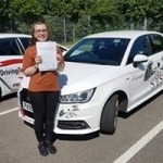 Leah Taylor passed with Sas Elite Driver Training
