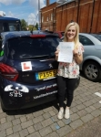 Maddy Young passed with Sas Elite Driver Training