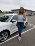 Megan Boredom passed with Sas Elite Driver Training