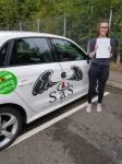 Morgan Bishop passed with Sas Elite Driver Training