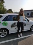 Morgan Reynolds passed with Sas Elite Driver Training