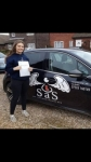 Phoebe Starling passed with Sas Elite Driver Training