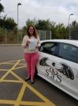 Rachael Nightingale passed with Sas Elite Driver Training