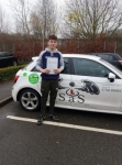 Ryan Cook passed with Sas Elite Driver Training