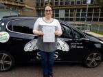 Sarah Keeler passed with Sas Elite Driver Training