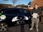 Thomas Hall passed with Sas Elite Driver Training