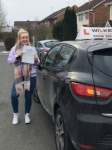 ABBIE S passed with Wilkes Driving Tuition
