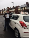 ADAM S passed with Wilkes Driving Tuition