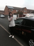 Becky passed with Wilkes Driving Tuition