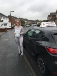 CHLOE H passed with Wilkes Driving Tuition