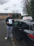 CHRIS S passed with Wilkes Driving Tuition