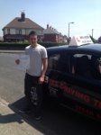 Dan passed with Wilkes Driving Tuition
