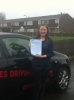 Hannah passed with Wilkes Driving Tuition