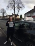 TAMMY J passed with Wilkes Driving Tuition
