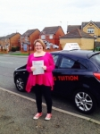 CLARE passed with Wilkes Driving Tuition