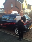 BECKY  C passed with Wilkes Driving Tuition
