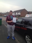 LIAM C passed with Wilkes Driving Tuition