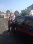 STACEY passed with Wilkes Driving Tuition