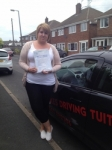 MEESHA passed with Wilkes Driving Tuition