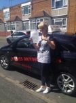 HOPE B passed with Wilkes Driving Tuition