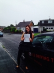 LEANNE  passed with Wilkes Driving Tuition