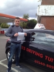COLE passed with Wilkes Driving Tuition