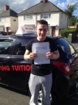BRAD passed with Wilkes Driving Tuition