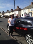 Tammy H passed with Wilkes Driving Tuition