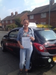 VIKKI H passed with Wilkes Driving Tuition