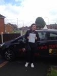 JESS passed with Wilkes Driving Tuition