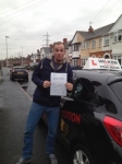 MIKE passed with Wilkes Driving Tuition