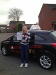 LEANNE J passed with Wilkes Driving Tuition