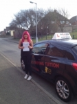 CHELSEA W passed with Wilkes Driving Tuition
