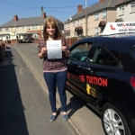 SIAN D passed with Wilkes Driving Tuition