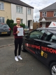 LAUREN F passed with Wilkes Driving Tuition