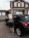 ADAM C passed with Wilkes Driving Tuition
