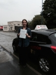 MILLIE H passed with Wilkes Driving Tuition