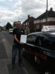 MARTIN W passed with Wilkes Driving Tuition