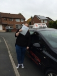 ROBYN F passed with Wilkes Driving Tuition