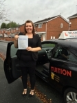 CHARLOTTE P passed with Wilkes Driving Tuition