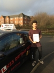 LEWIS B passed with Wilkes Driving Tuition