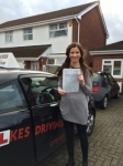 ELLIE R passed with Wilkes Driving Tuition