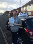 MATT P T passed with Wilkes Driving Tuition